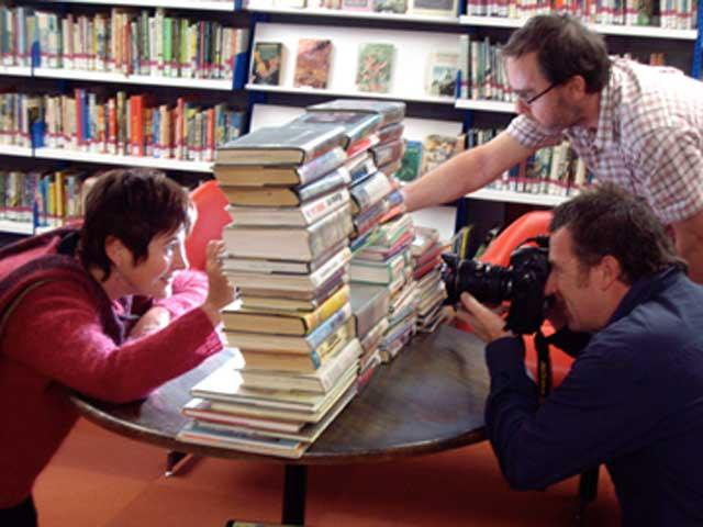 Remember this Image? School Library comes to Fruition.