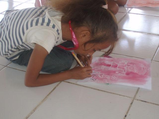 Maria Amaral drawing