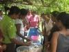 Buying local food in Maliana