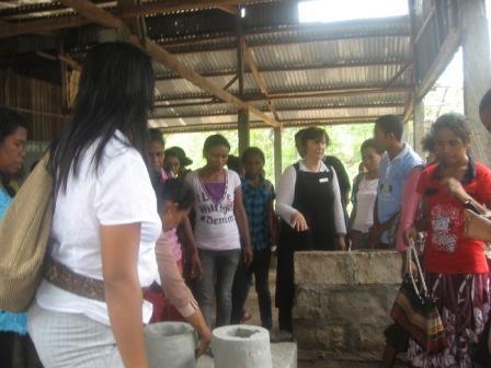 Women from Covalima & Maliana-seeing-ready-stove