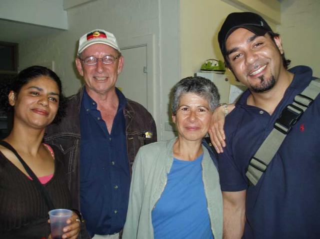 Emanuel, Marsha and friends xmas dinner